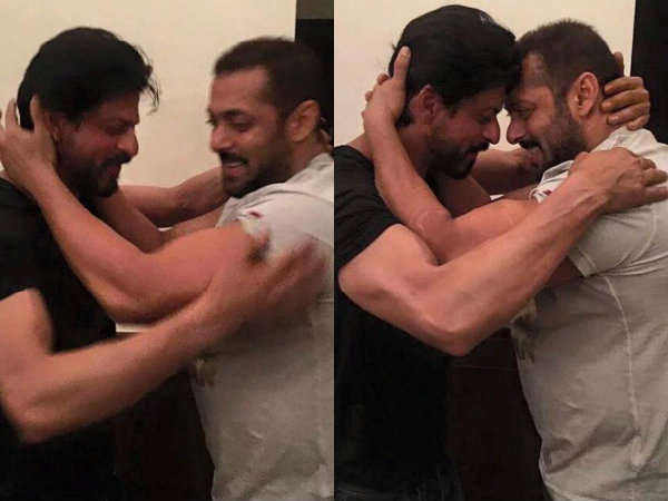 Salman's Lovely Wish To Shahrukh