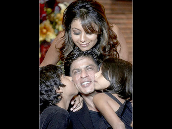 Gauri With Family