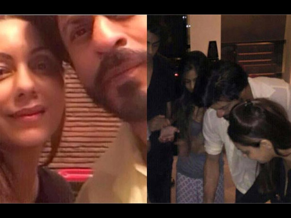Shahrukh With Family
