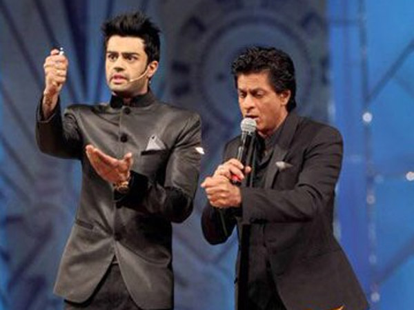 Manish Paul-SRK