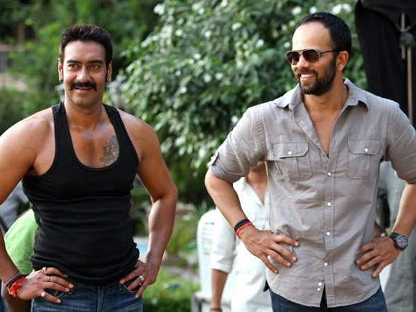 Image result for ajay devgan and rohit shetty