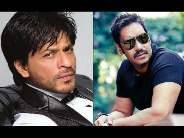 SRK And Ajay