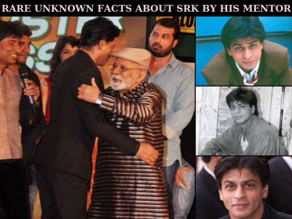 Shahrukh Khan's Mentor Lekh Tandon's Revelation About Him Will Win Your Heart