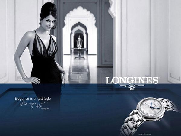 Aishwarya Rai Bachchan Stunning Pics Longines