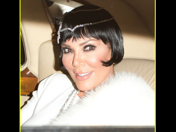 Kris Jenner Gets A 'Great Gatsby' Themed Party For Her 60th