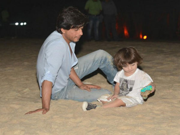 Shahrukh Khan Feels AbRam Is Becoming More Famous Than Him