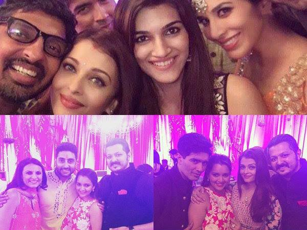 Aishwarya With Kriti & Other Guests