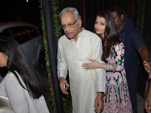 Aishwarya With Dad