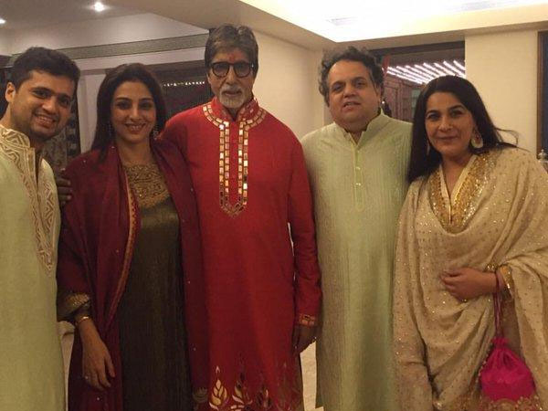 Amitabh With Friends