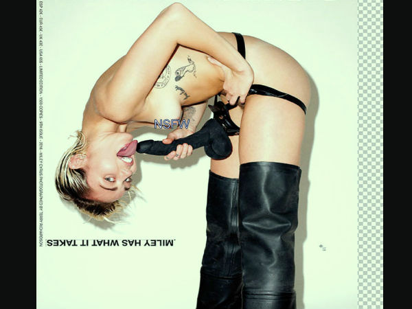 Miley Cyrus' Recent NSFW Photoshoot!