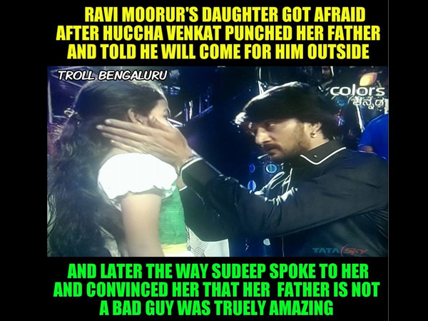 Sudeep Wins Thousands Of Hearts