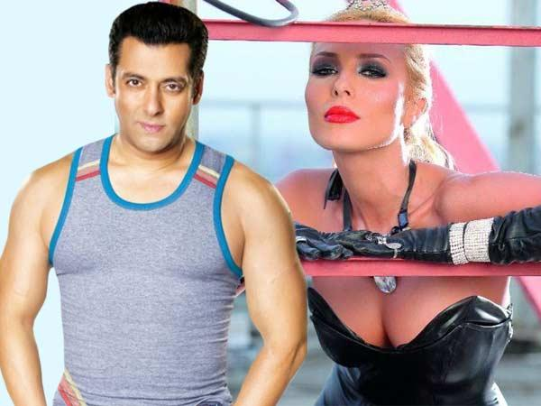 Salman With His Rumoured Girlfriend