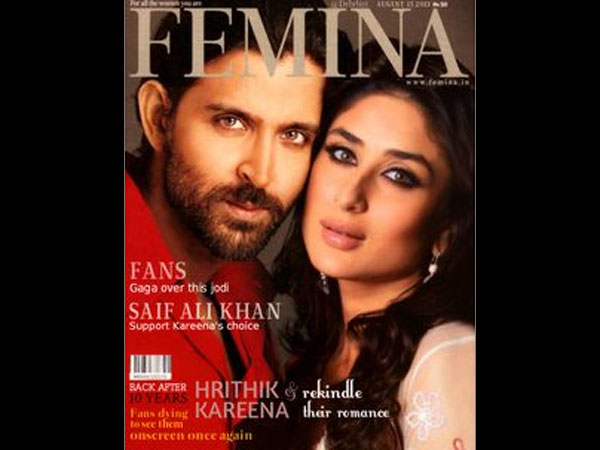 On The Femina Cover