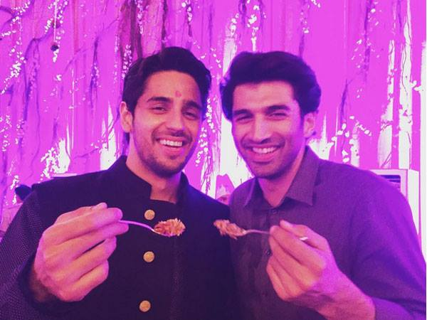 Sidharth With Aditya Roy Kapoor