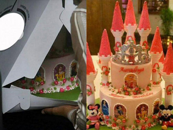 NEW PICS! Aaradhya Bachchan Cutting Birthday Cake With ...