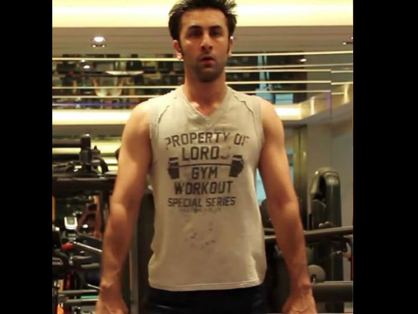 Working Out Ranbir