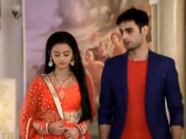 swaragini swara and sanskar first meet