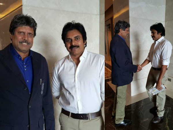 When Pawan Kalyan Asked For A Photograph, Thrilled To Meet Kapil Dev