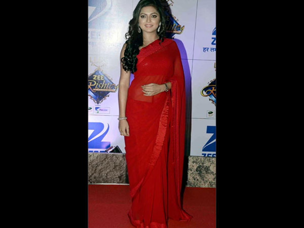 Drashti Dhami In Red