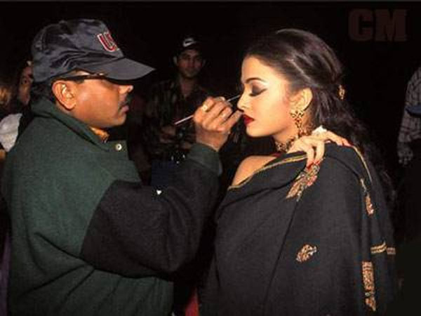 Aish On Her Movie's Sets