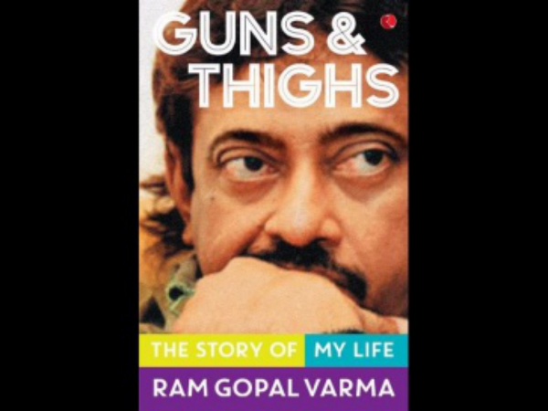 RGV Dedicates His Autobiography To A Porn Star & Gangsters