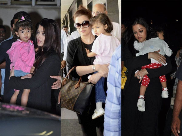 Aaradhya With Mom