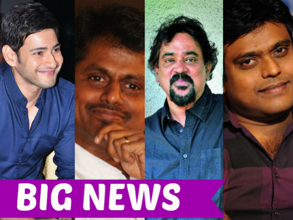 OH FRESH! Santosh Sivan Confirms Mahesh Babu-A R Murugadoss' Project, Harris Jayraj On Board