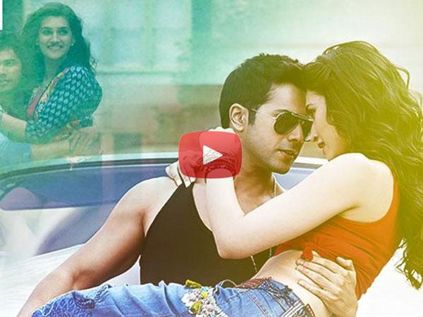 Kriti Sanon and Varun Dhawans song Manma Emotion Jaage