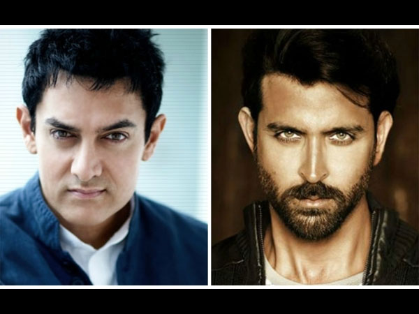 Aamir Khan And Hrithik Roshan