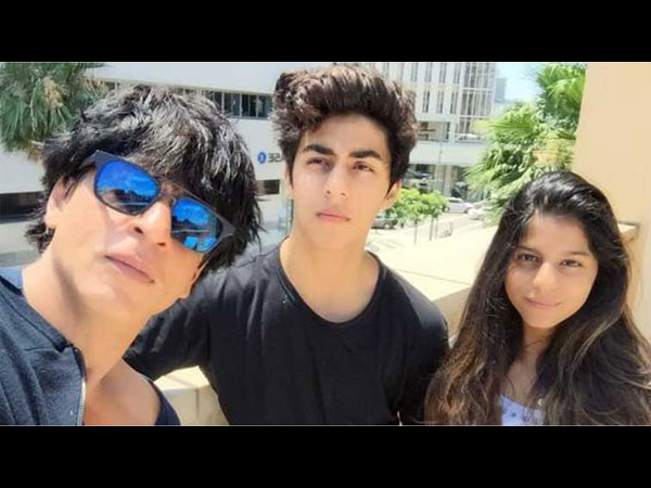 Shahrukh With His Kids