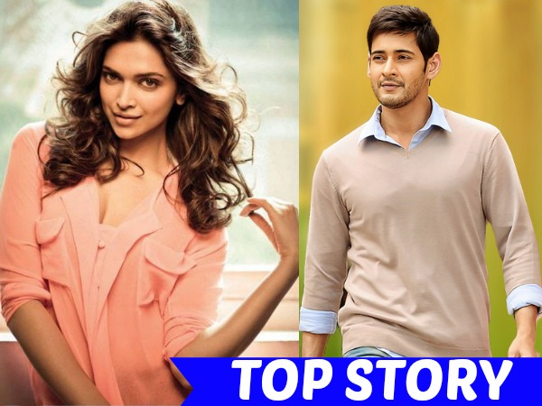HOT NEWS! Here's Why Deepika Thanked Mahesh Babu On Twitter