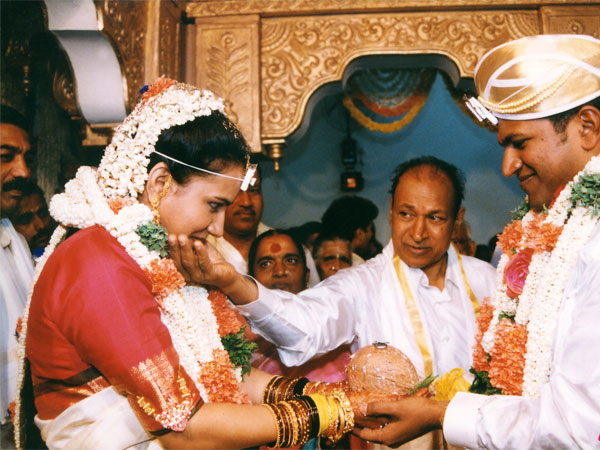 Wedding Picture Of Puneeth Rajkumar