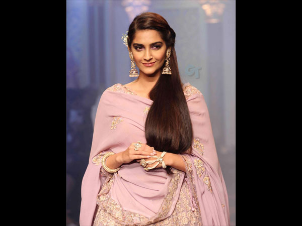 Sonam On The Ramp