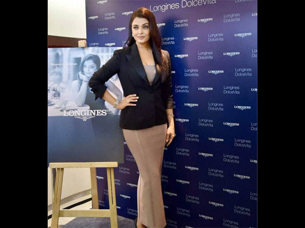 Aish At Longines Event