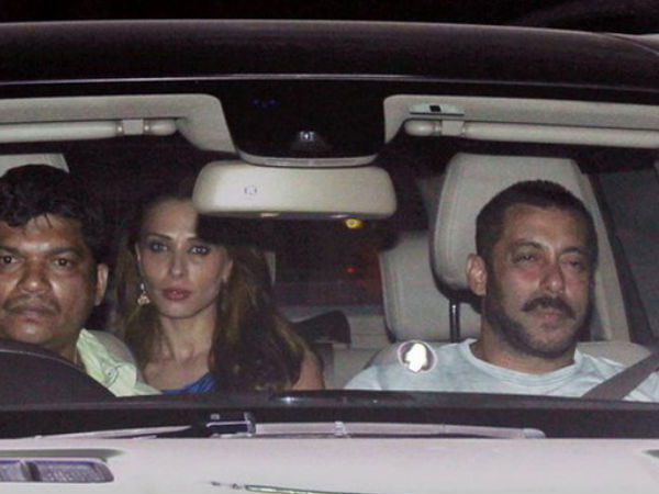 Here's How Iulia Vantur Sneaks Into Salman's House!