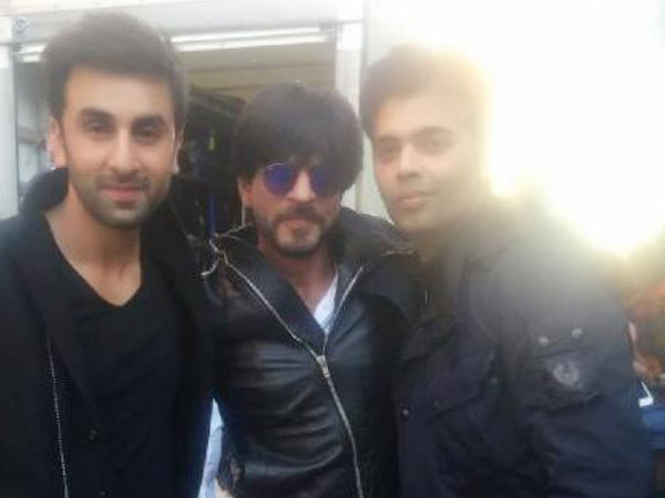 SRK On The Sets Of ADHM