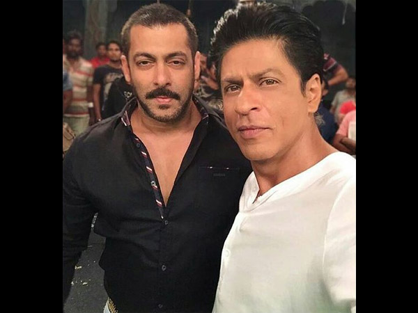 Shahrukh And Salman's Selfie