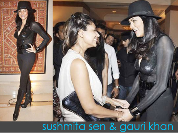 Gauri With Sushmita