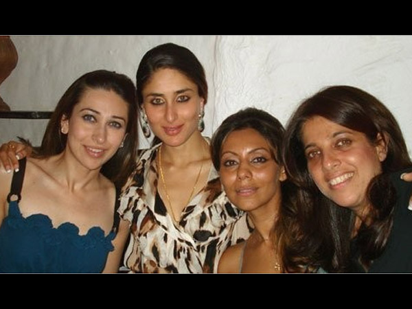 Gauri With Kapoor Sisters