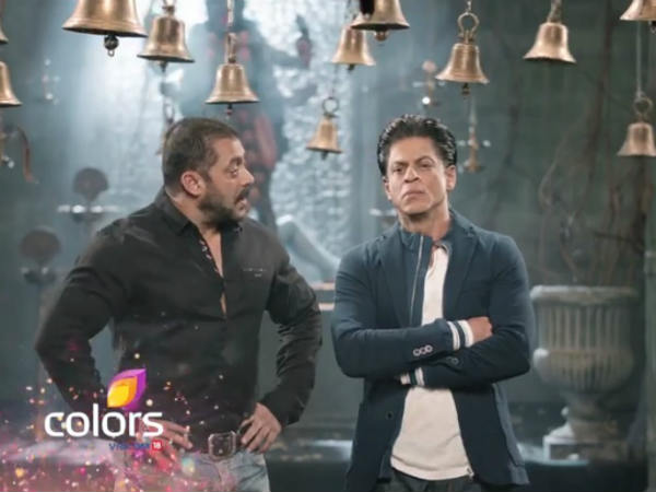 Salman-SRK's Conversation In The Promo