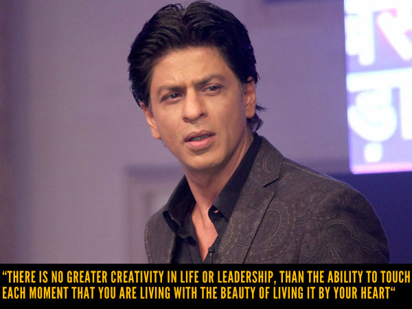 SRK's Leadership Gyaan