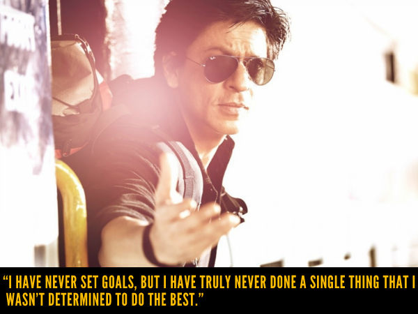 SRK On Goals