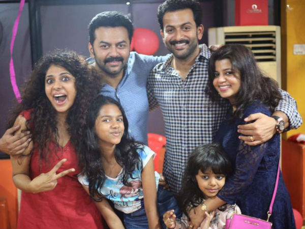 PICS Poornima Celebrates Birthday With Indrajith Besties