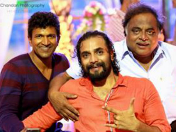 With Puneeth Rajkumar & Ambareesh