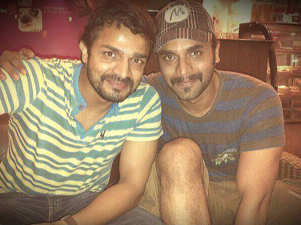With Brother Vijay Raghavendra