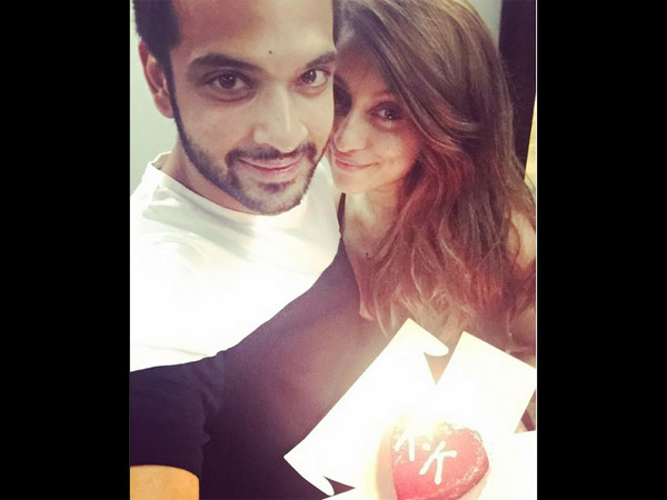 Karan With Anusha