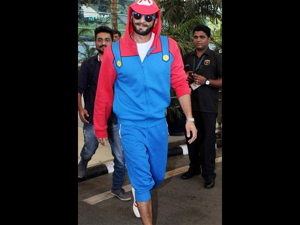 Ranveer As Mario