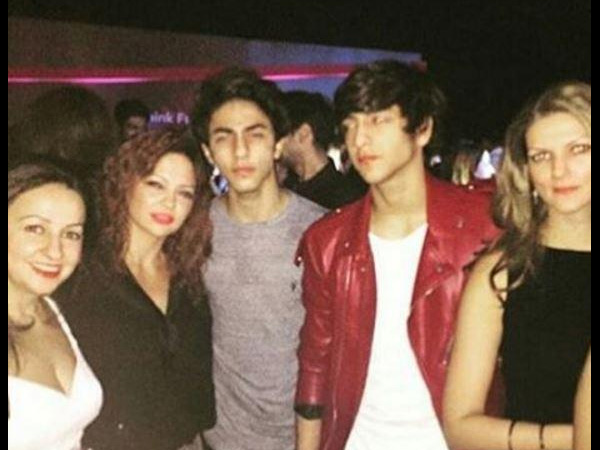 Aryan With Friends