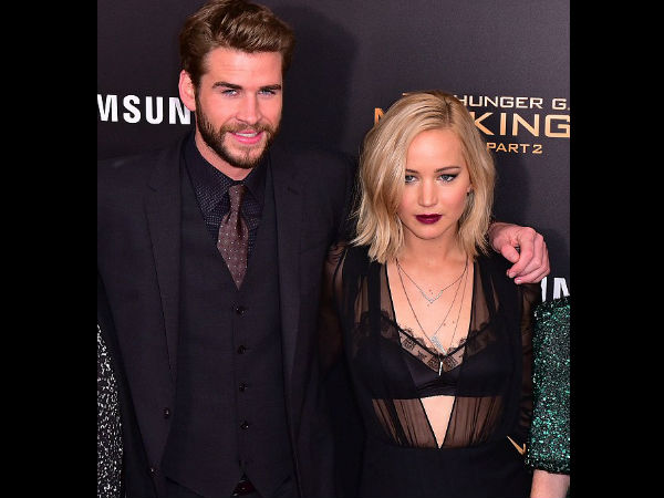 It's Happening! Jennifer Lawrence Kissed Liam Hemsworth Off-Screen!