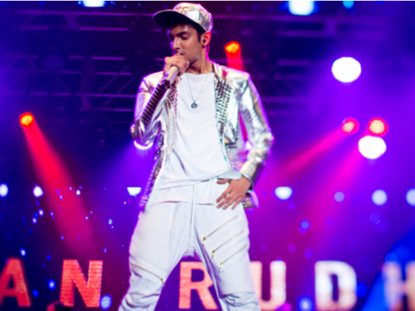 Anirudh Concert In Canada